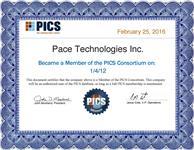 PICS Membership Certificate