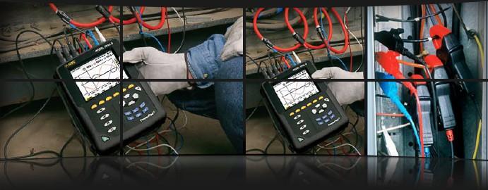 Harmonic and power quality analysis